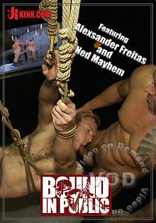 Bound In Public Featuring Alexsander Freitas And Ned Mayhem