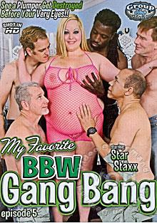 My Favorite BBW Gang Bang Episode 5 Box Cover