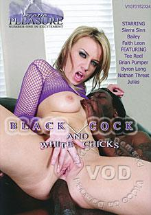 Black Cock And White Chicks
