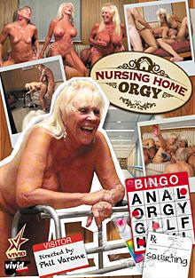 Nursing Home Orgy - Granny Violated Again!