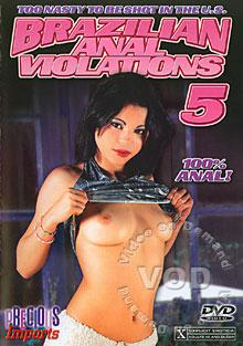 Brazilian Anal Violations 5 Box Cover