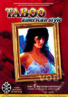 Taboo American Style Part 2 - The Story Continues Box Cover